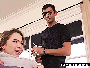 FamilyHookups- fondling My insane Stepsister Down